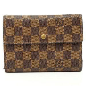 Auth Louis Vuitton Porte Tresor Etui #2345L78